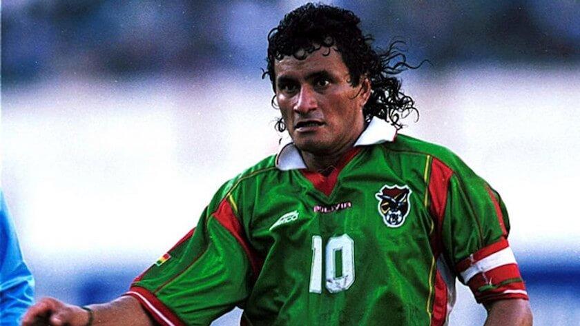 mejor futbolista de Bolivia