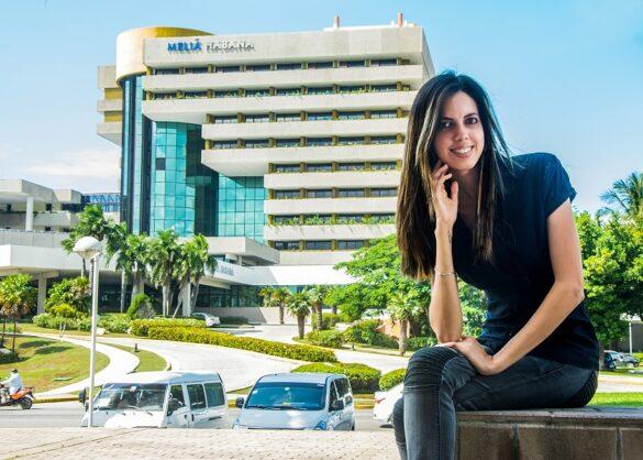 "La emprendedora cubana Katia Sánchez es la fundadora de ""La penúltima casa"". Foto: Abel Rojas / Panamericanworld"