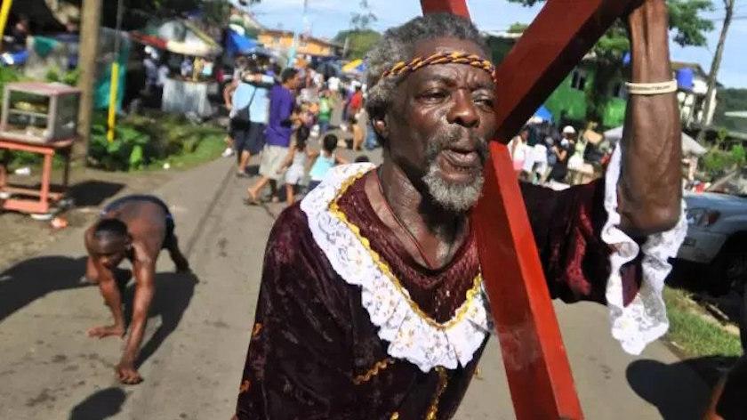 El Cristo Negro de Portobelo en Panamá, tradición y leyenda