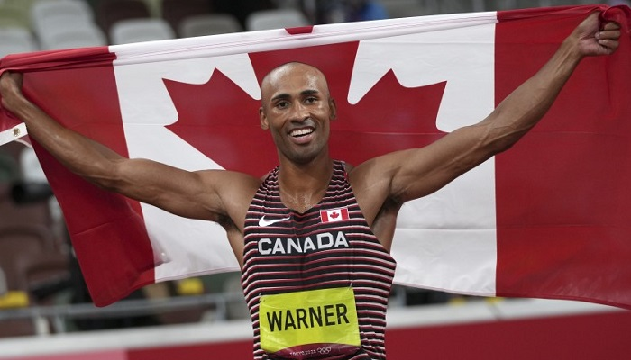 La perseverancia del decatlonista canadiense Damian Warner tuvo el mejor premio posible: campeón y recordista olímpico en Tokio 2020.
