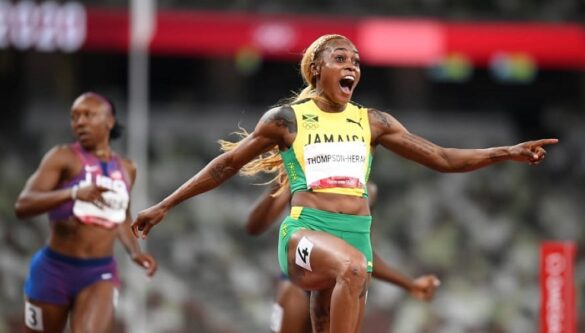 La jamaicana Elaine Thompson-Herah fue una de las atletas caribeños más sobresalientes en los Juegos Olímpicos Tokio 2020