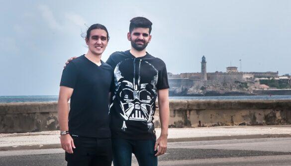 Del talento creativo de Jorge Lázaro Sirés y Javier Estévez han salido dos videojuegos indies en Cuba. Foto: Abel Rojas / PanamericanWorld